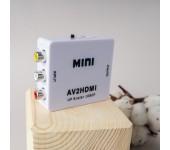 Конвертер AV на HDMI и аудио, AV 2 HDMI для монитора, CVBS, PAL NTSC