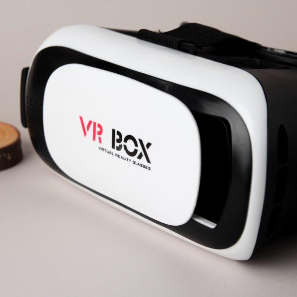 VR BOX 2 шлем виртуальной реальности 3D-VR шлем модель 2 с пультом (Чёрный)