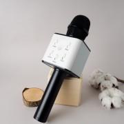 Микрофон Караоке со встроенным динамиком Q7 Беспроводной Bluetooth (Черный)