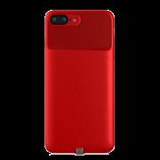 Чехол Baseus с беспроводной зарядкой Qi и магнитом Backclip ACAPIPH7P-LJ09 для iPhone 7 Plus iPhone 8 Plus (Красный)