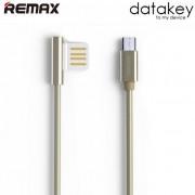 Дата-кабель Remax Emperor Micro-USB RC-054m (Золотой)