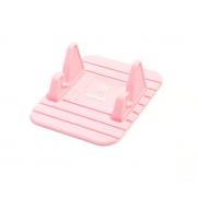 Универсальный держатель-коврик в автомобиль для смартфона Remax Fairy (Розовый)