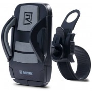 Вело-мото держатель Remax Phone Holder for Bicycle RM-C08 (Черный с серым)