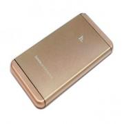 Аккумулятор в стиле iPhone Hoco UPB03-12000 Portable Power Bank 12000 mah (Золото)