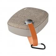 Портативный динамик Hoco BS8 Plain textile desktop wireless speaker (Коричневый)
