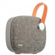 Портативный динамик Hoco BS8 Plain textile desktop wireless speaker (Серый)