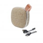 Портативный динамик Hoco BS9 Light textile desktop wireless speaker (Коричневый)
