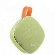 Портативный динамик Hoco BS9 Light textile desktop wireless speaker (Зеленый)