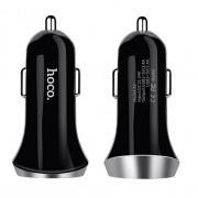 Разделитель автомобильный Hoco Z6 two-port car charger(Черный)