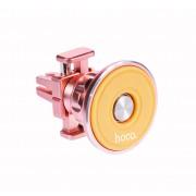 Автодержатель Арома HOCO CA8 Fragrant magnetic metal vehicle mobile holder (Розовый)