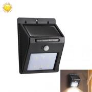 Фонарь LED Ever brite на солнечной батарее с датчиком движения Solar Motion 4 светодиодов (Черный)