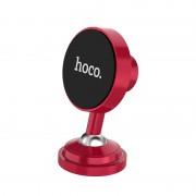 Автодержатель для смартфона Hoco CA36 Dashboard metal magnetic in-car holder (Красный)