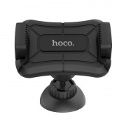 Автодержатель для смартфона Hoco CA43 Travel spirit push-type dashboard in-car holder (Черный)
