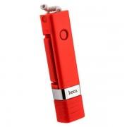 Cелфи-монопод для смартфонов Hoco K3A Beauty Lightning Interface Selfie Stick (Красный)