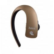 Bluetooth гарнитура HOCO E10 Touchable business wireless earphone (Коричневый)