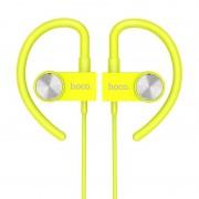 Беспроводные вакуумные наушники HOCO ES5 Magnetic sporting wireless earphone (Зеленый)