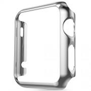 Защитный чехол для Apple Watch HOCO 2 PC cover (Серебряный 38мм)
