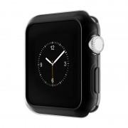 Защитный чехол для Apple Watch HOCO Series 2 electroplated tpu cover (Черный 38мм)