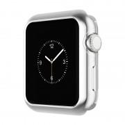 Защитный чехол для Apple Watch HOCO Series 2 electroplated tpu cover (Серебряный 38мм)