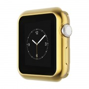 Защитный чехол для Apple Watch HOCO Series 2 electroplated tpu cover (Золотой 38мм)