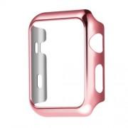 Защитный чехол для Apple Watch HOCO Plating Case (Розово-золотой 38мм)