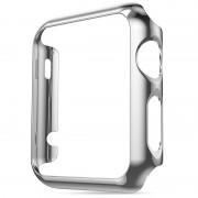 Защитный чехол для Apple Watch HOCO Plating Case (Серебряный 38мм)
