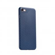 Чехол HOCO Ultra thin series carbon fiber PP cover for iPhone 7 iPhone 8 (Голубой)