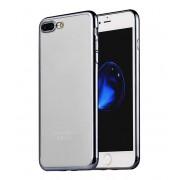Чехол HOCO Glint series electroplated TPU cover for iPhone 7 plus iPhone 8 plus (Серый)
