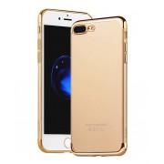 Чехол HOCO Glint series electroplated TPU cover for iPhone 7 plus (Золотой)