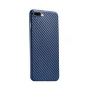 Чехол HOCO Carbon fiber series TPU case for HuaWei P10 (Голубой сапфир)