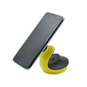 Автомобильный магнитный держатель с вакуумной присоской для смартфона HOCO CA15 accompanist series Swan suction pad magnetic holder (Черный)