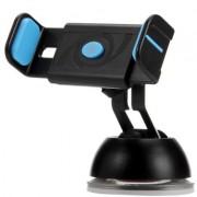 Автодержатель для телефона Hoco CPH17 Semi-automatic suction pad Mobile Holder (Голубой)