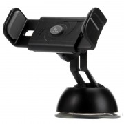 Автодержатель для телефона Hoco CPH17 Semi-automatic suction pad Mobile Holder (Серый)
