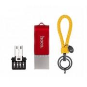 Флеш-накопитель Hoco flash UD3 U key Type-C, Micro, 64 Gb (Красный)
