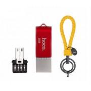Флеш-накопитель Hoco flash UD3 U key Type-C, Micro, 32 Gb (Красный)