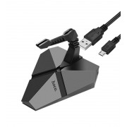 USB хаб HOCO HB2 Scorpio 3USB hub (Серый)