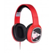 Наушники с микрофоном HOCO W1 headphone with color drawing Charming Queen