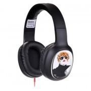Наушники с микрофоном HOCO W1 headphone with color drawing Cool Girl