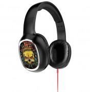 Наушники с микрофоном HOCO W1 headphone with color drawing King of Devil