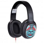 Наушники с микрофоном HOCO W1 headphone with color drawing Son on the Devil