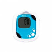 Шагомер HOCO B2 Fat tester pedometer (Голубой)