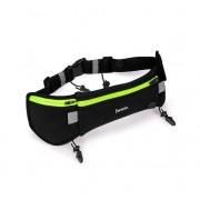 Спортивная сумка на пояс Hoco Multifunction Movement Pockets Athletics (Черная M)