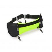 Спортивная сумка на пояс Hoco Multifunction Movement Pockets Athletics (Зеленая M)