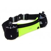 Спортивная сумка на пояс Hoco Multifunction double kettle Movement Pockets Training (Зеленая M)