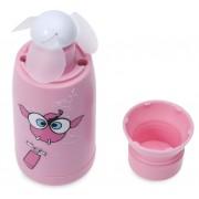 Мини-вентилятор в бутылке HOKO F2 hand-hold fan (Розовый)