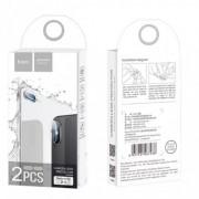 Защитное стекло для камеры HOCO Lens flexible Tempered Film V11 для Apple iPhone X (Прозрачный)