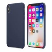 Чехол-накладка HocoPure series protective case for iPhone X (Морская волна)