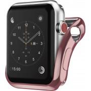 Interstep Бампер для Apple Watch 44mm (Розовый)