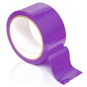 Фиолетовая самоклеющаяся лента для связывания Pleasure Tape - 10,6 м., фиолетовый