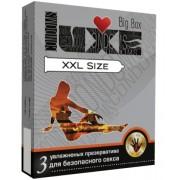 Презервативы большого размера LUXE XXL size - 3 шт.